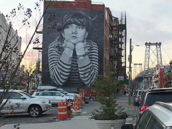 Brooklyn street art mural