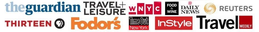press and media logos